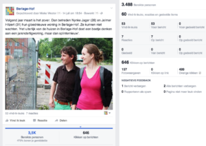 Facebookcampagne Berlage-Hof